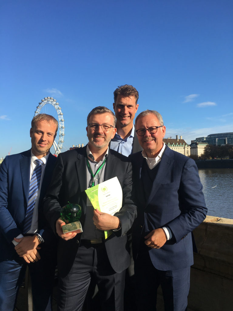 Johan Cruijff Arena wins award for using old electric car batteries to power stadium