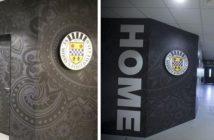 St Mirren FC player tunnel