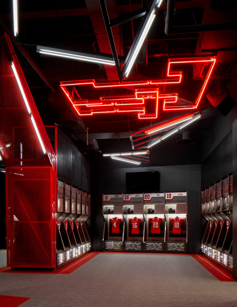 The future stadium: Next-gen technology, modern locker rooms and advanced security