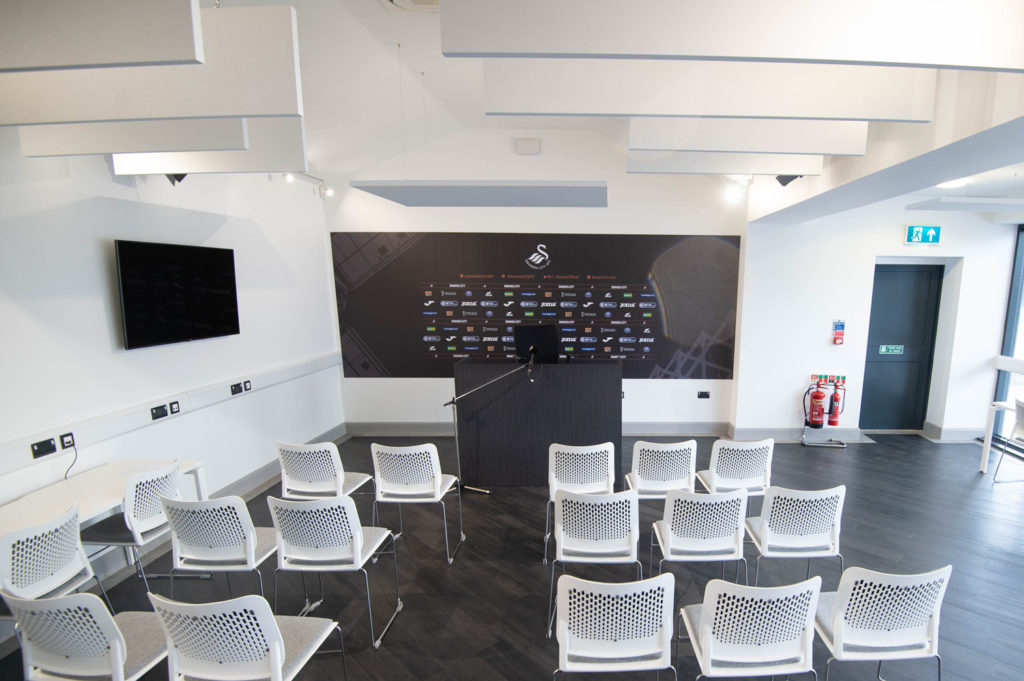 Swansea City FC's state-of-the-art media center