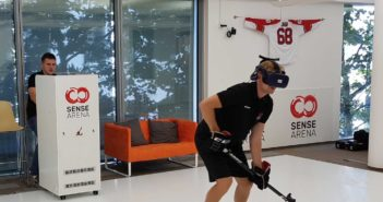 World's first virtual-reality ice hockey training technology