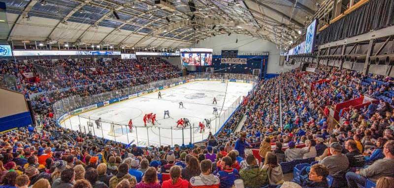 American Hockey League arenas install LED lighting   Stadia