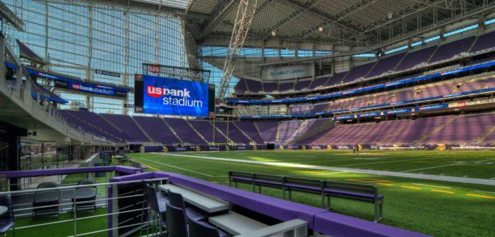 US Bank Stadium installing new artificial turf