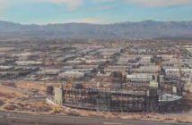 Las Vegas Stadium construction timelapse