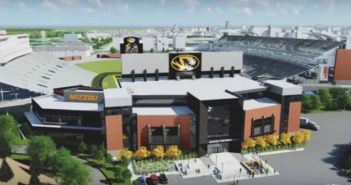 Mizzou South End Zone renovation