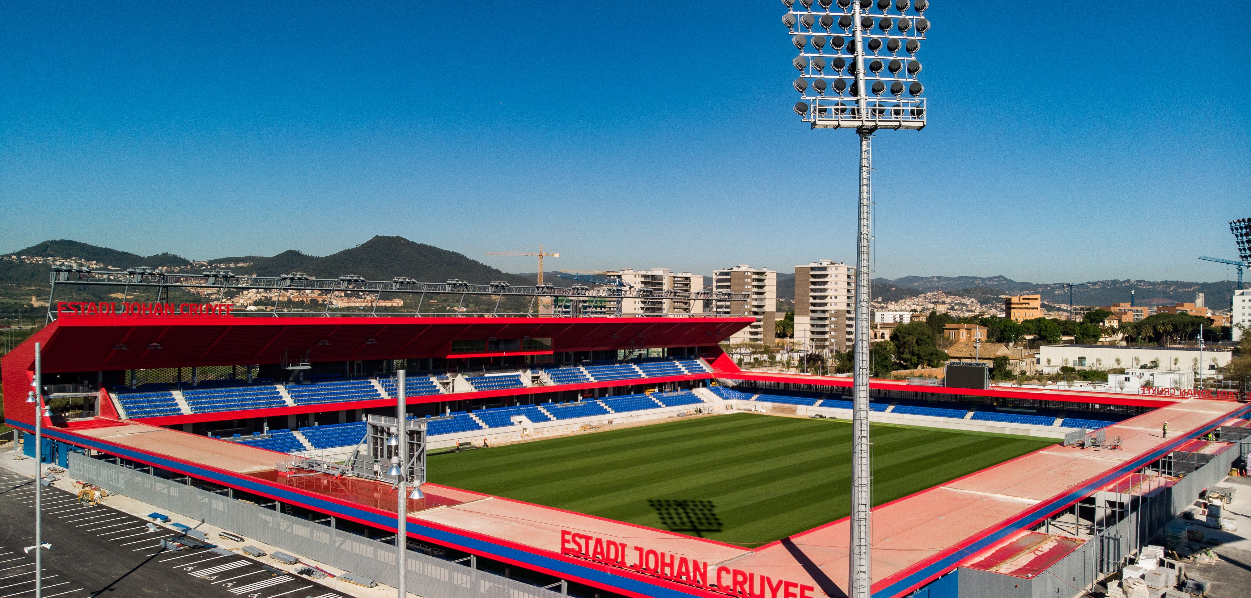 Fc Barcelona Installs New Lighting System At Johan Cruyff Stadium Stadia Magazine