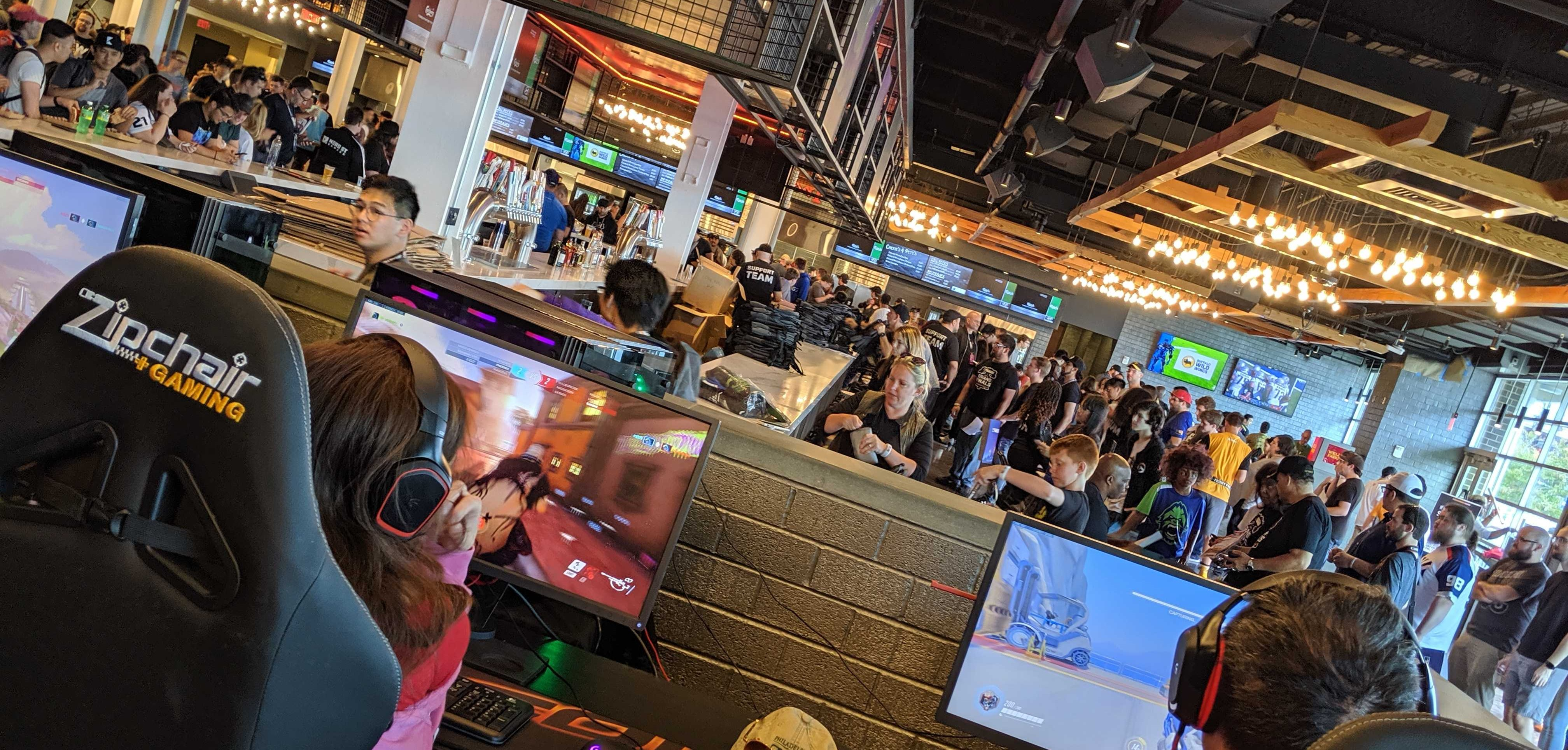 Wells Fargo Center Opens First Of Its Kind Esports Space Stadia