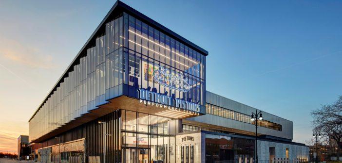 Detroit Pistons training center