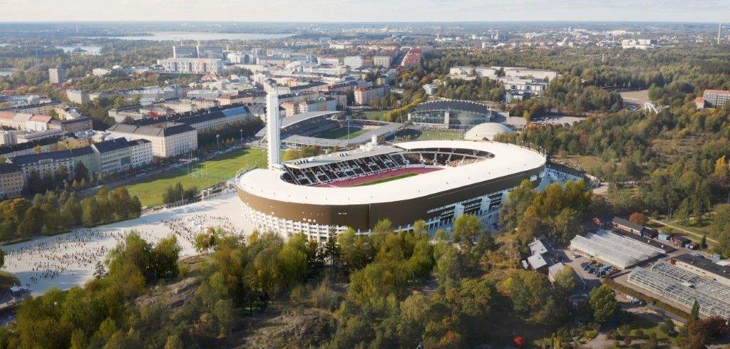 Helsinki Olympic Stadium to employ eco-friendly renewable ...